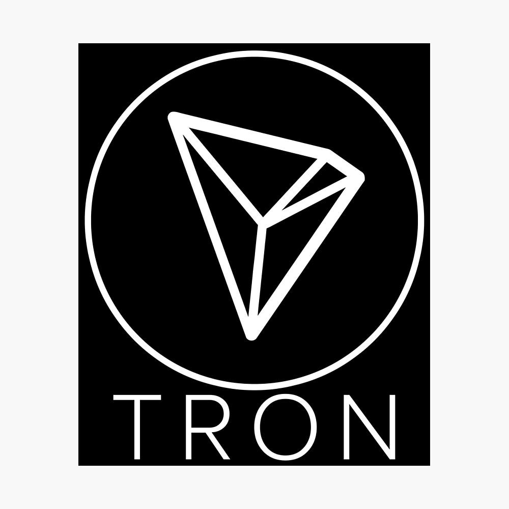 Tron Tronix TRX Crypto Trader Fotodruck