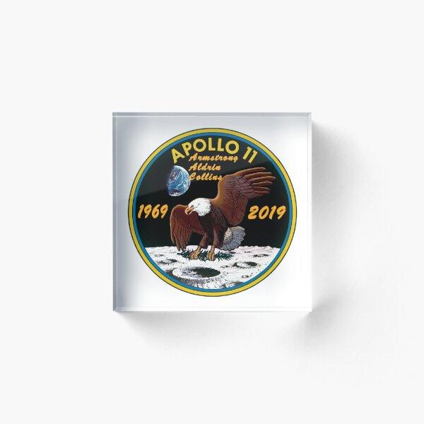 Apollo 11 at 50! Acrylic Block