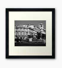 "City Life - ""City Symbol"" Framed Print"
