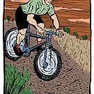 Mountain Biking On Corral Loop by Jared Manninen