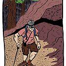 Hiking Up Freel Peak by Jared Manninen