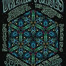 Dream Phases Gig Poster - 7/21/2018 Highland Park Bowl, LA by Lucy-Faery