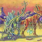 Robo Dinos by Alan Funk