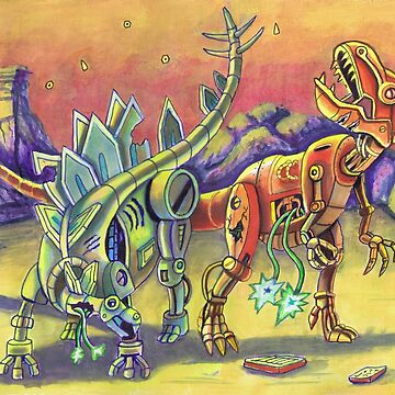 Robo Dinos by Funnyfuse