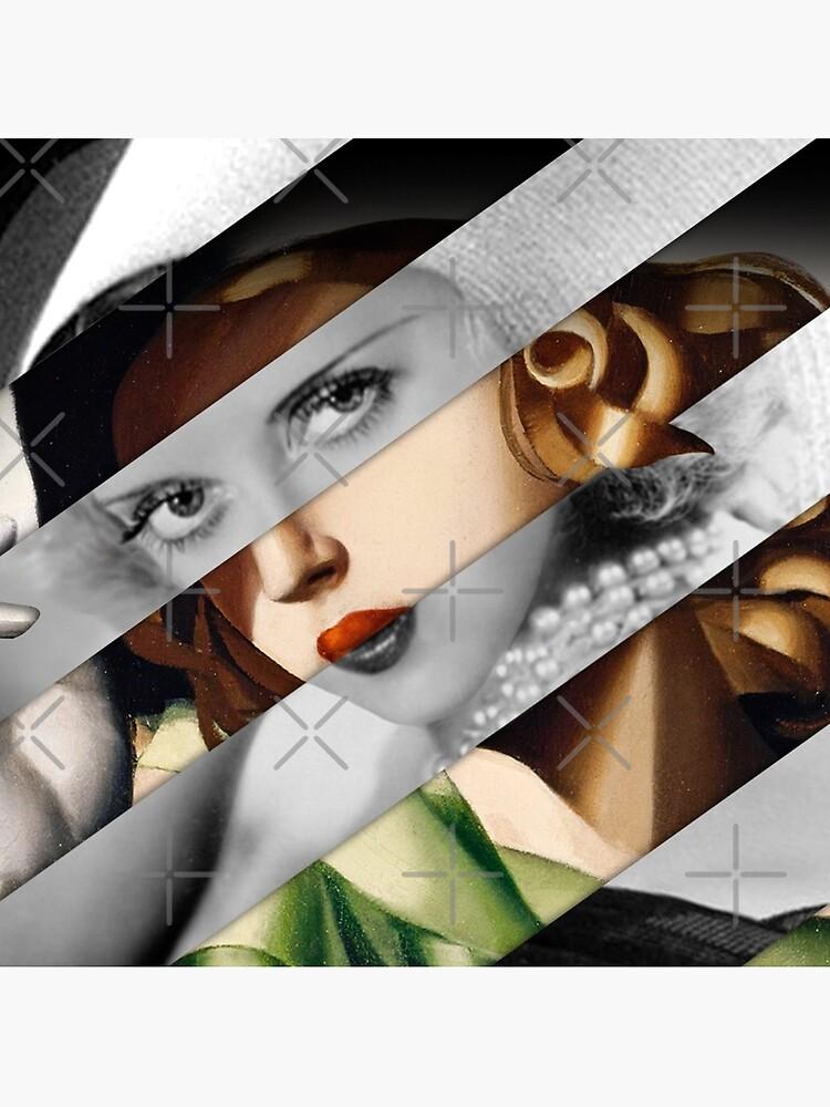 Tamara De Lempicka & Bette D. by luigi-tarini