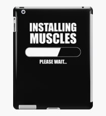 INSTALLING MUSCLES iPad Case/Skin