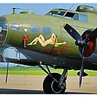 B-17 Flying Fortress 'Sally-B' by PathfinderMedia