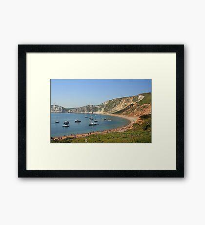 Worbarrow Bay Framed Print