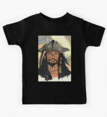 Captain Jack Sparrow Kids Tee
