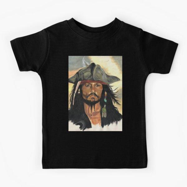 Captain Jack Sparrow Kids T-Shirt