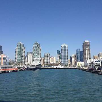 San Diego Harbor by seacucumber
