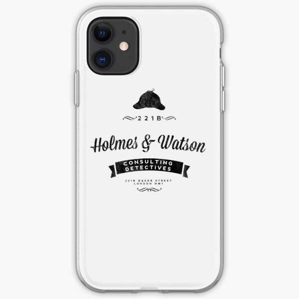 Holmes and Watson Consulting iPhone Soft Case