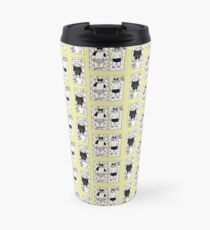 Summer is here - let's head on down to the kitten beach! Travel Mug