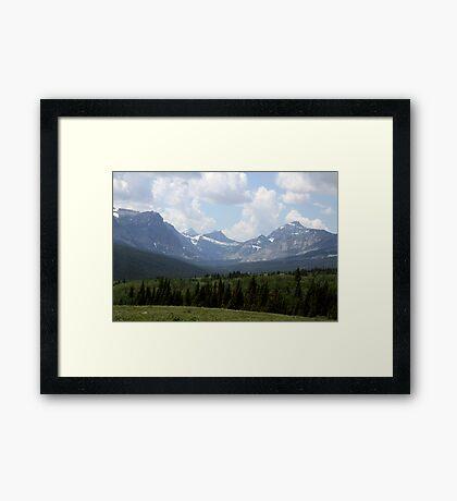 Montana's Beauty Framed Print