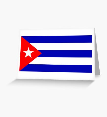 Cuba, national id Greeting Card