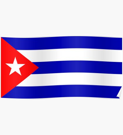 Cuba, national id Poster