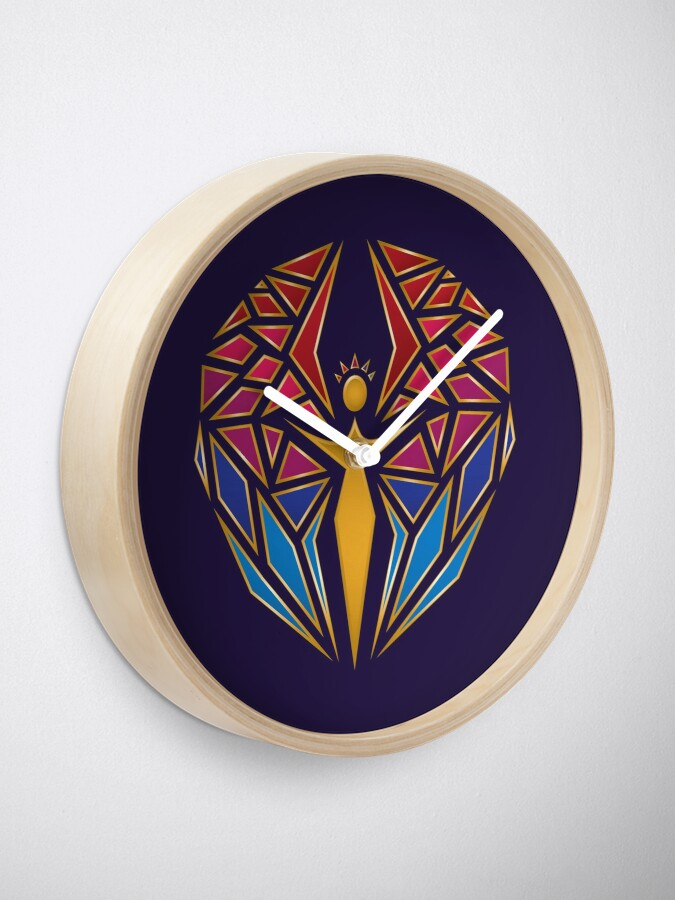 Alternate view of Arcane Angel Clock