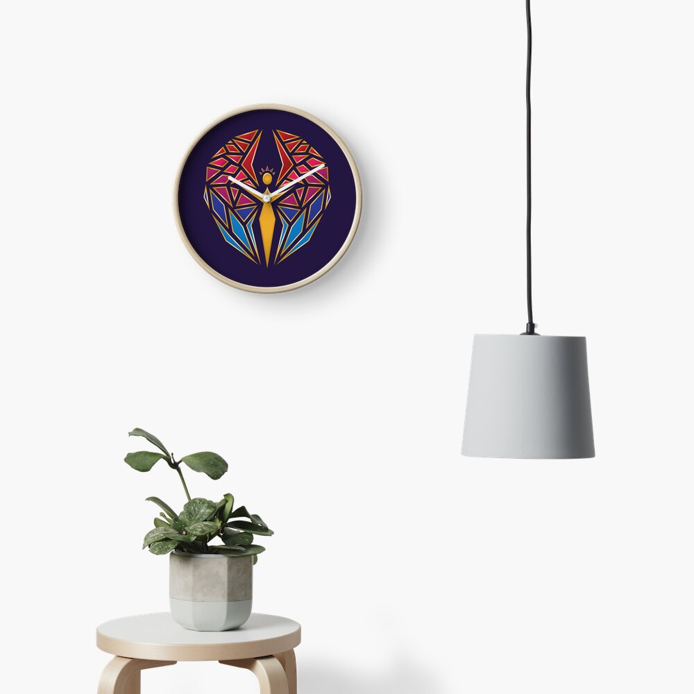 Arcane Angel Clock