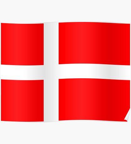 Denmark, national id Poster