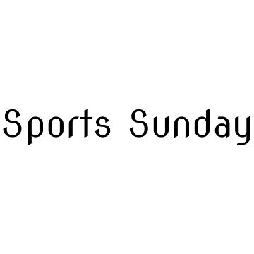 Sports Sunday by Simon-Peter