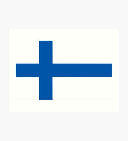 Finland, national id Art Print