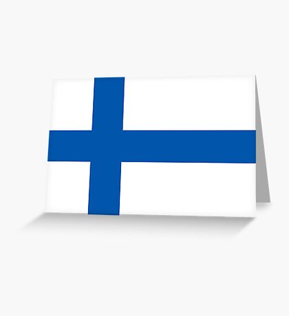 Finland, national id Greeting Card