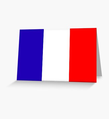 France, national id Greeting Card