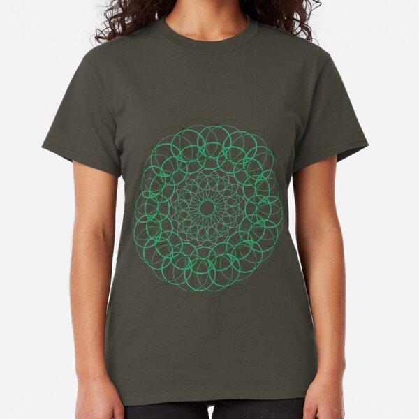 Green circle Classic T-Shirt