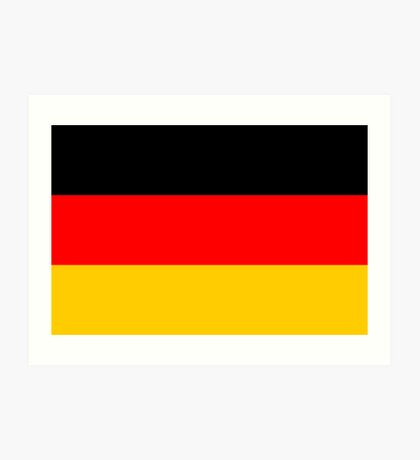 Germany, national id Art Print