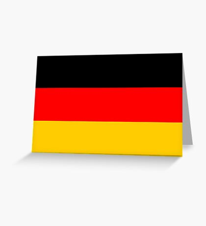 Germany, national id Greeting Card