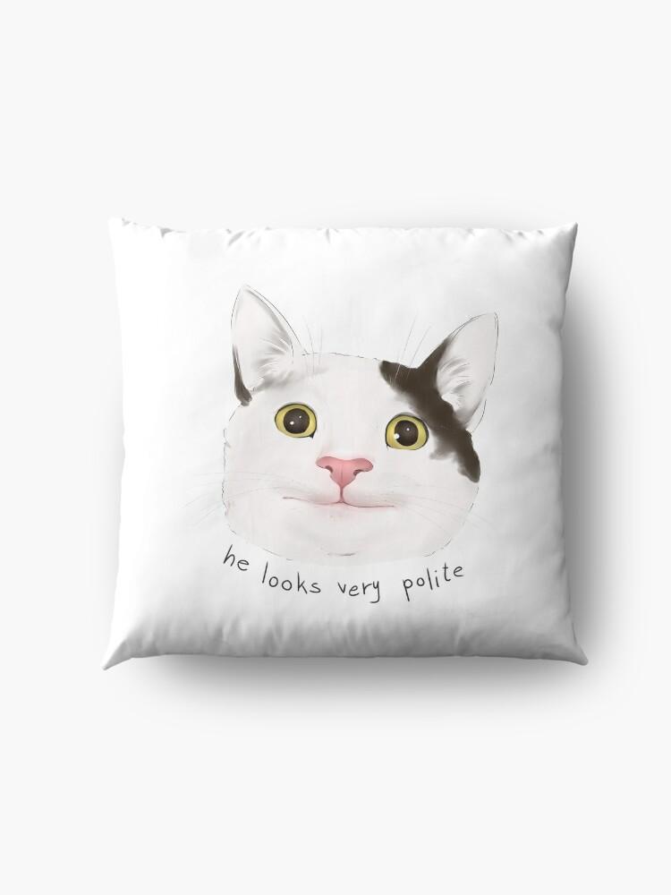 """He looks very polite - Polite Cat Meme / Catto Dank Meme ..."