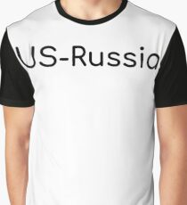 US-Russia Graphic T-Shirt