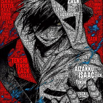 Zack / Isaac Foster - Satsuriku no Tenshi | Angels of Death by QShiro