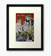 Pulp Fiction / The Gay Lords Framed Print