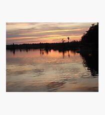 Sunset July 17, 2009 Photographic Print