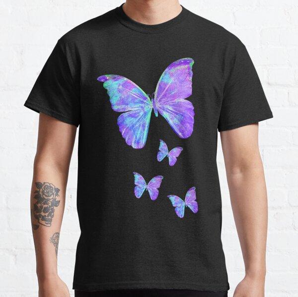Purple Butterflies by Jan Marvin Classic T-Shirt