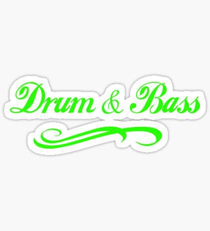 Drum & Bass  Sticker