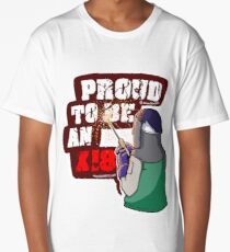 Proud to be an X18 Square Long T-Shirt
