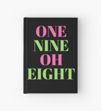 One Nine Oh Eight - Alpha Kappa Alpha Journal ; a gift for your soror or future soror Hardcover Journal