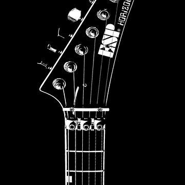 ESP Horizon - Guitar -Logo-Music-Rock-Metal by carlosafmarques