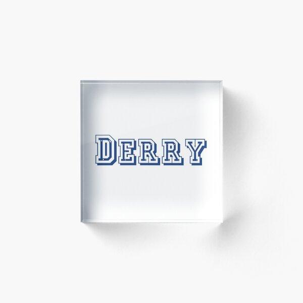 Derry Acrylic Block