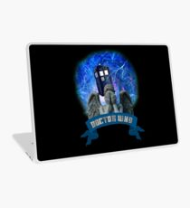 Doctor Who Return of the Weeping Angels Laptop Skin
