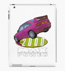 Max Power Project 2000 iPad Case/Skin