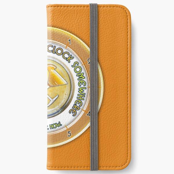 Brunch O'Clock iPhone Wallet