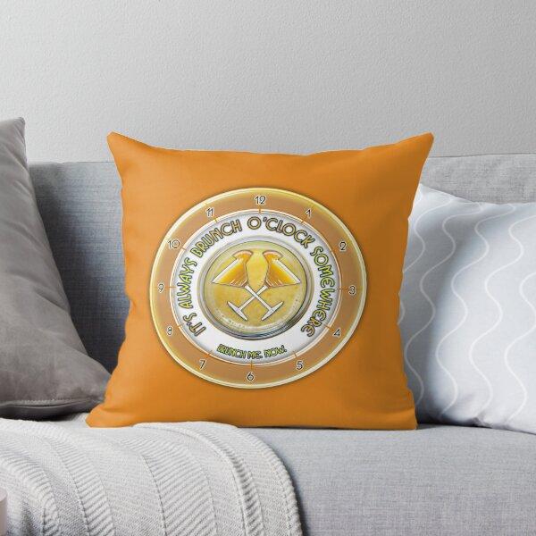 Brunch O'Clock Throw Pillow