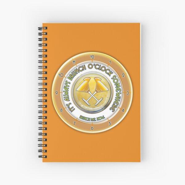 Brunch O'Clock Spiral Notebook