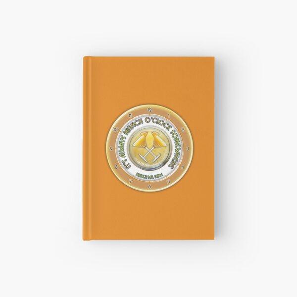 Brunch O'Clock Hardcover Journal