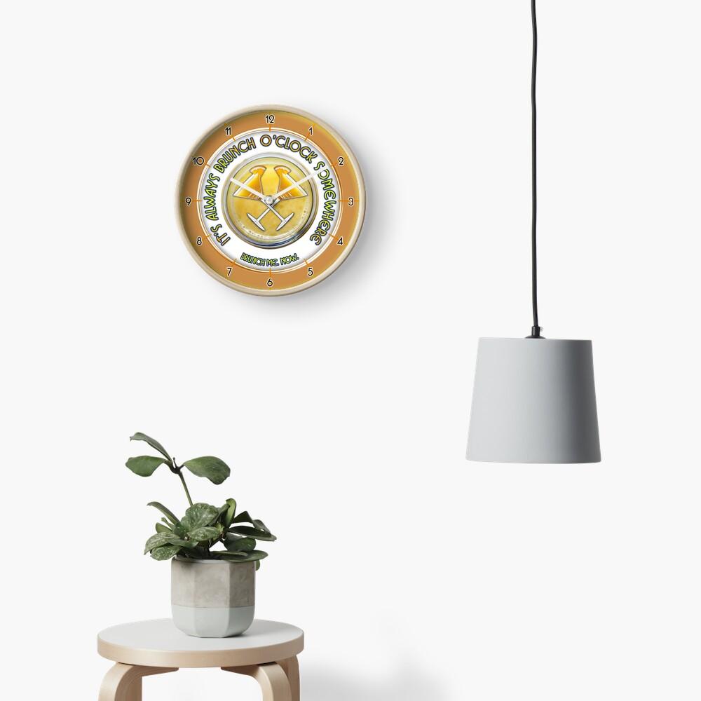 Brunch O'Clock Clock