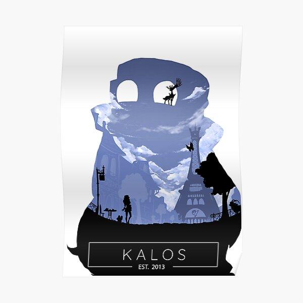 Kalos Region: X Version.  Poster