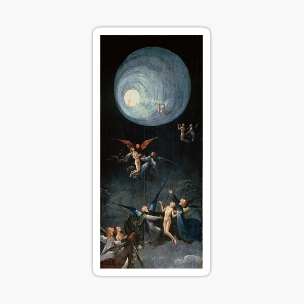 Hieronymus #Bosch #HieronymusBosch #Painting Art Famous Painter   Sticker